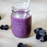 Blackberry Banana Bliss Smoothie
