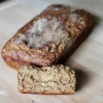 Skinny Addicting Cinnamon Banana Bread