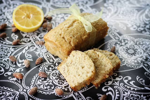 easy Lemon Almond Poppyseed Bread recipe