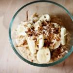 Peanut Butter, Banana, & Coconut Oatmeal