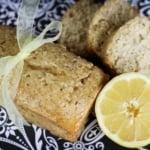 Lemon Almond Poppyseed Bread