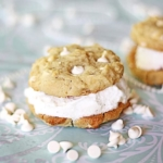 Dreamcicle Cookie Ice Cream Sandwiches