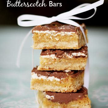Double Chocolate Butterscotch Bars