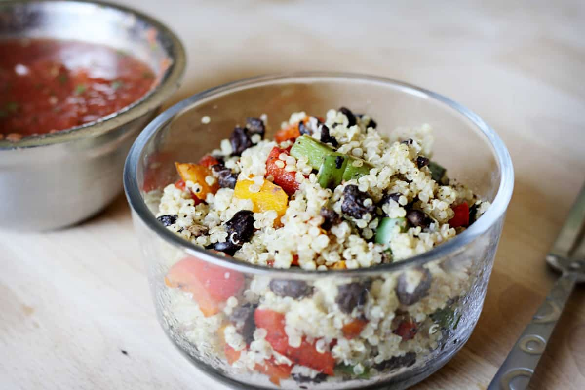 Tex-Mex Quinoa Bowl forecasting