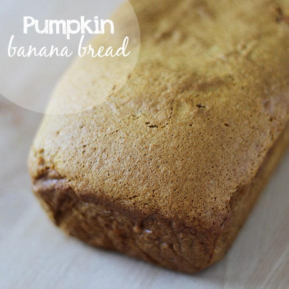 Pumpkin Banana Bread - Creme De La Crumb