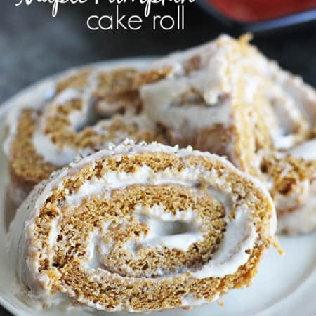 Maple Pumpkin Cake Roll