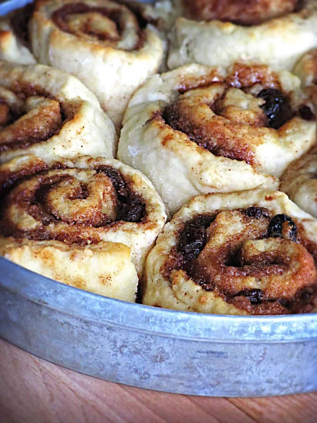 How to make cinnamon buns without yeast
