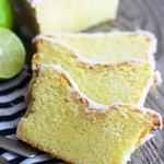 Coconut Lime {Greek Yogurt} Pound Cake