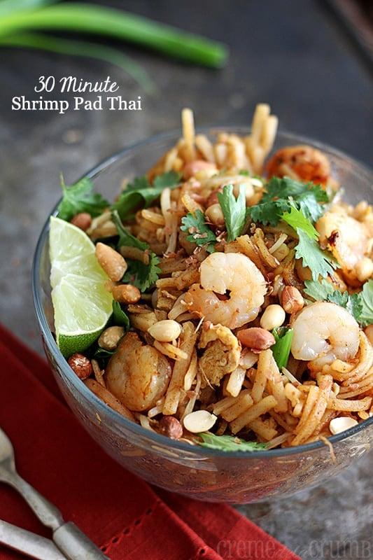 30 Minute Shrimp Pad Thai
