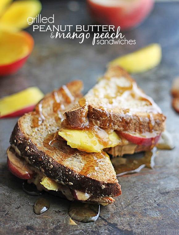 Grilled Grown Up PB&J