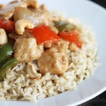 {15 Minute} Cashew Chicken