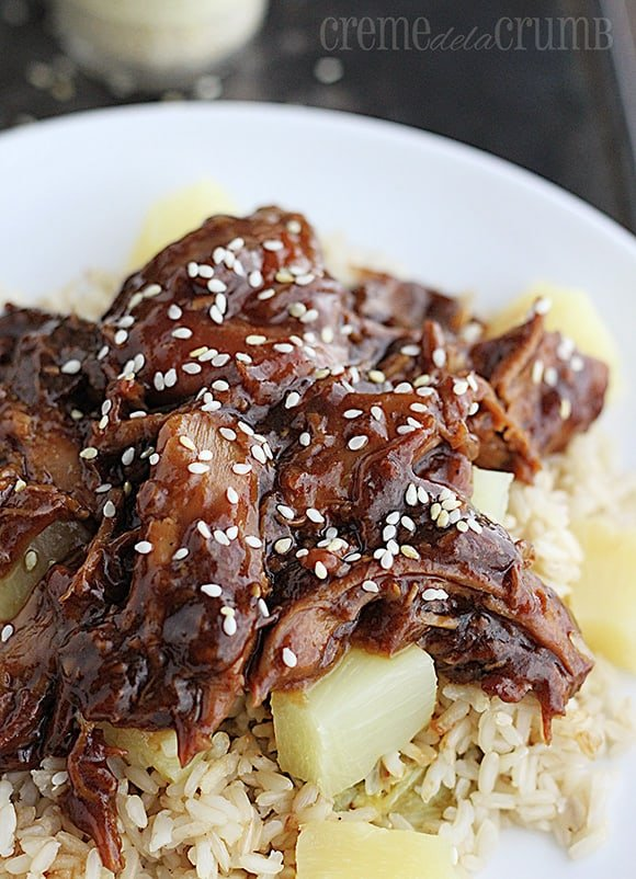 Slow Cooker Honey Orange Sesame Chicken