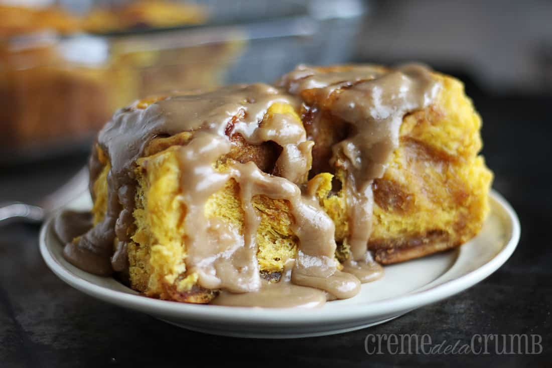 But back to these incredible Maple Pumpkin Cinnamon Rolls. Wow. Is ...