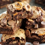 Rolo Pretzel Brownies