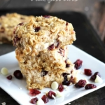 Oatmeal Craisin Breakfast Bars