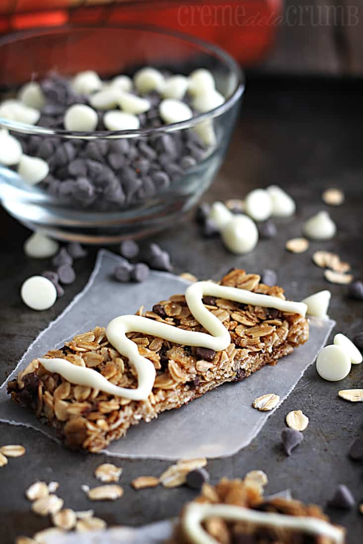 Honey Pumpkin Spice Granola Bars