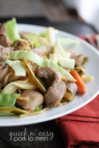 Quick n' Easy Pork Lo Mein