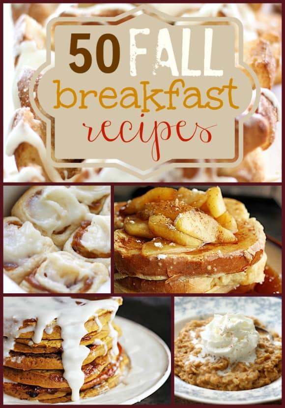 50 Fall Breakfast Recipes