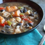 Jamaican Jerk Chicken Soup