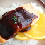 Orange Teriyaki Salmon