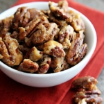 15 Minute Candied Cinnamon Pecans