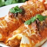 Sweet Pork Enchiladas