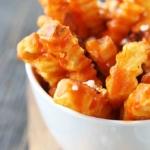 Skinny Buffalo Crinkle Fries - Creme de la Crumb