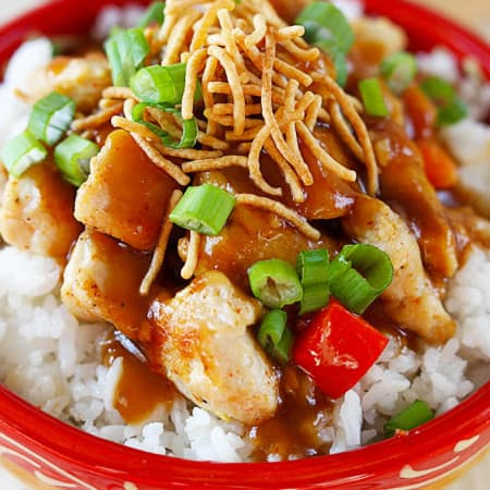 Hawaiian Hula Chicken - Creme de la Crumb