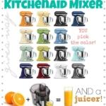Kitchenaid Mixer & Juicer Giveaway!