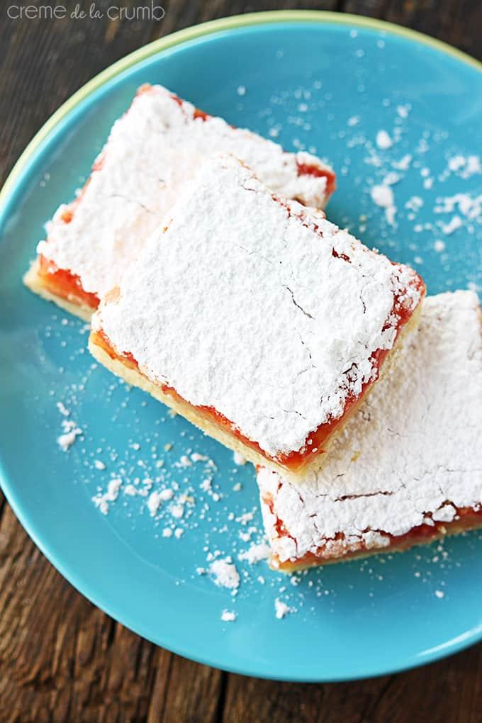 Lemon Raspberry Bars Recipes — Dishmaps