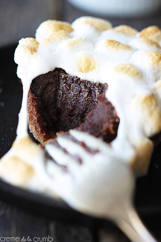 S'mores Lava Cakes