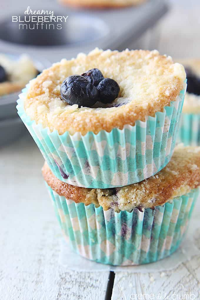 Dreamy Blueberry Muffins