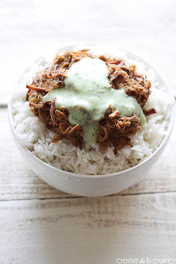 Cafe Rio Sweet Pork {copycat}