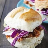 Carolina Style Pulled Pork Sliders