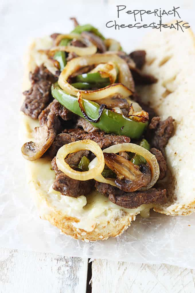 Pepperjack Cheesesteaks