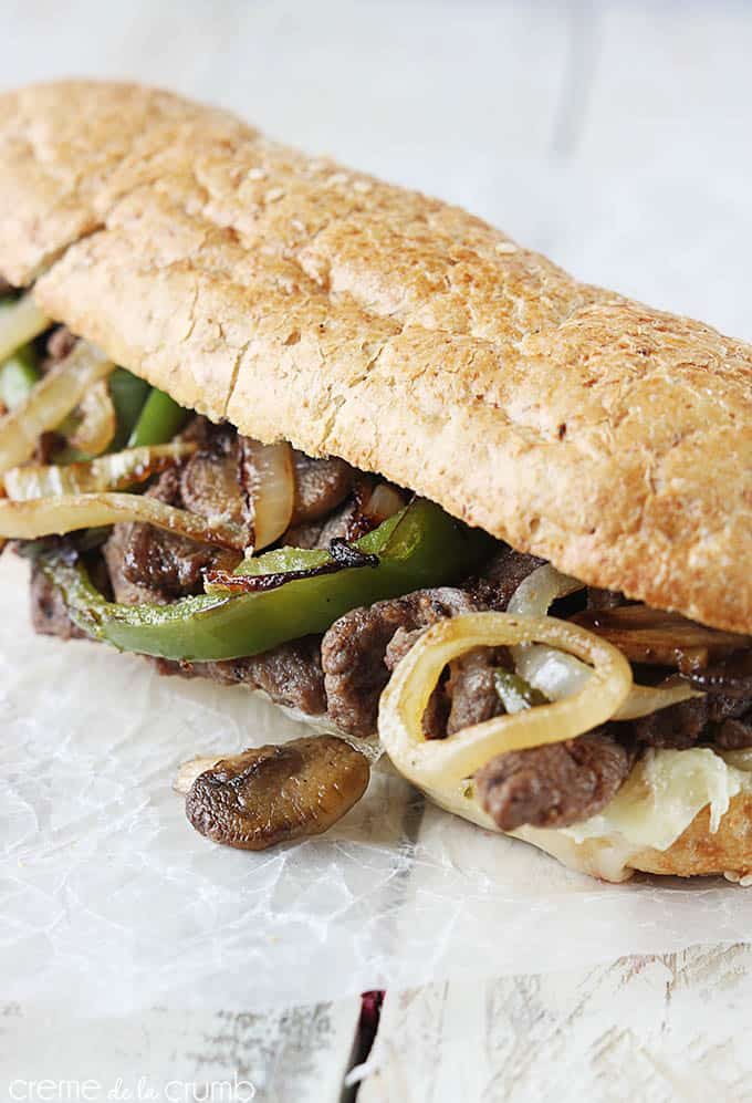 Classic Philly Cheesesteaks