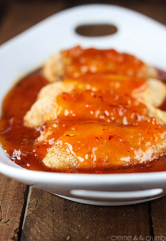 Spicy Apricot Chicken