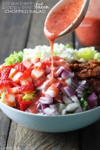 Strawberry Poppyseed & Bacon Chopped Salad