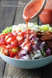 Strawberry Poppyseed & Bacon Chopped Salad
