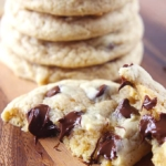 Double Chewy Chocolate Chip Cookies
