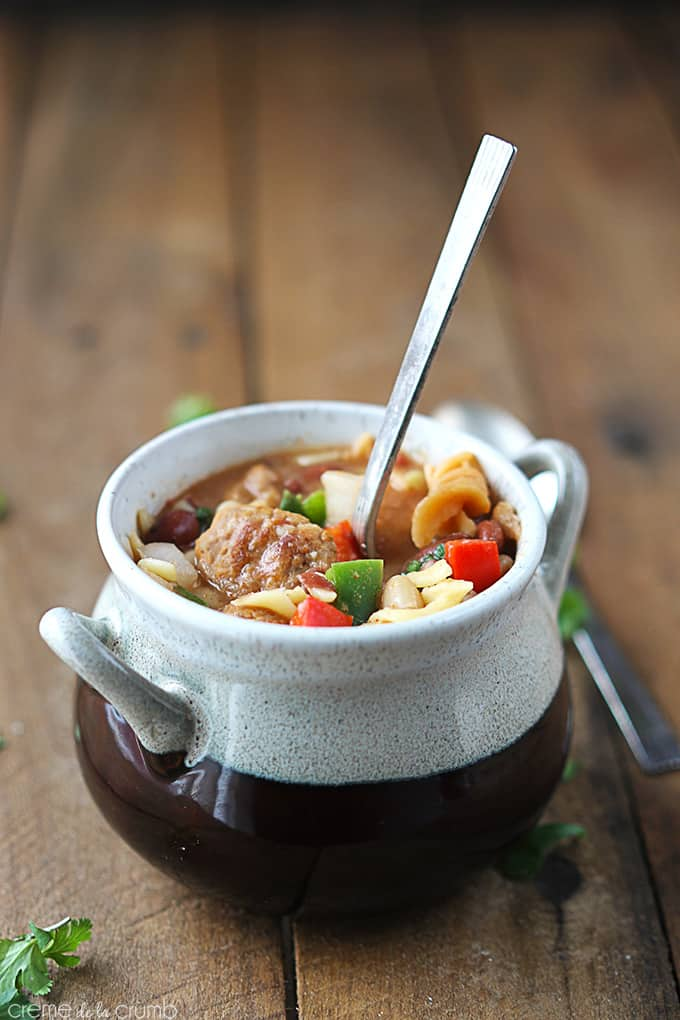 One Pot Italian Sausage Chili
