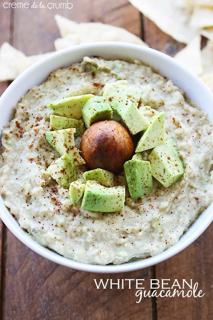 White Bean Guacamole