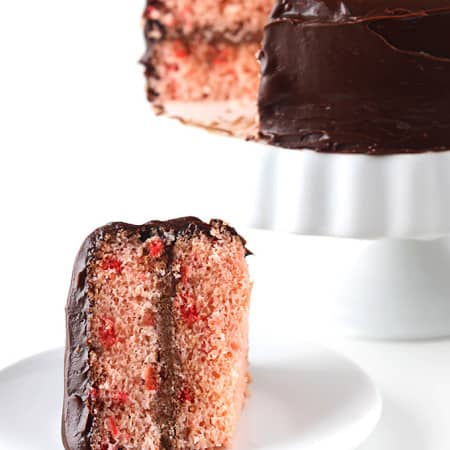 Cherry Chip Cake