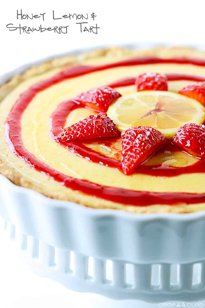 Strawberry Tart With Citrus Pastry Cream Recipes — Dishmaps