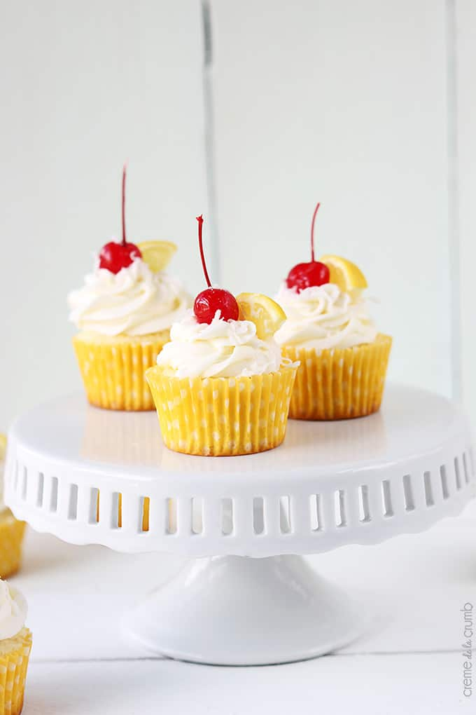 how to make lemon coconut cupcakes