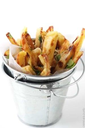 Garlic Parmesan Oven Fries