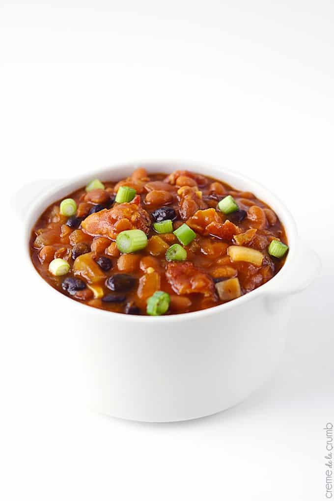 Smokey Baked Beans