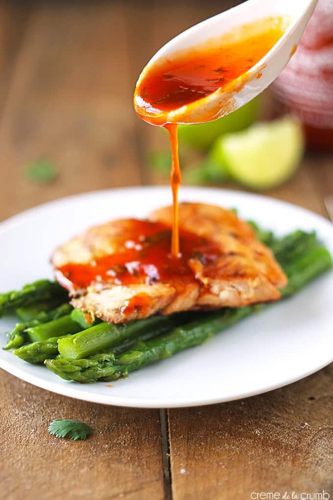 Sriracha Lime Salmon