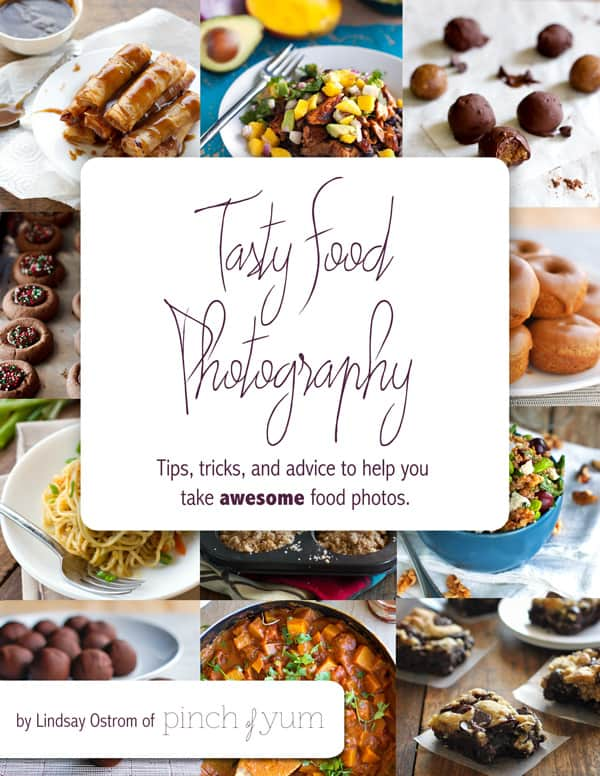 Tasty Food Photography eBook  - Tips and Tricks for Food Photography and Bloggers