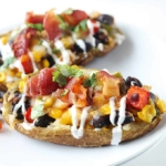 Southwest Loaded Potato Skins